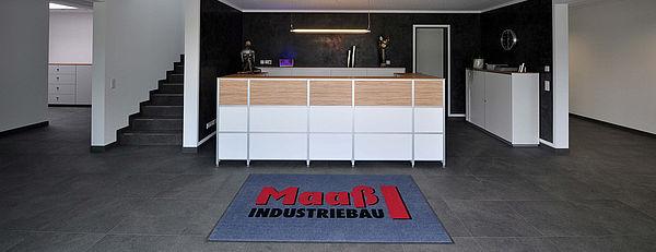 Maaß Industriebau in Detmold - Empfang