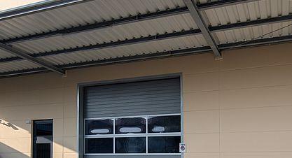 Neubau einer Lagerhalle nach Bundes-Immisionsschutzgesetz (BImSchG) - Ansicht Verladung