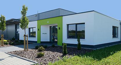 Ansicht Bürogebäude Industriebau