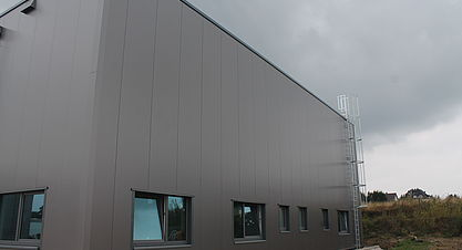 Neubau einer Produktions- und Lagerhalle