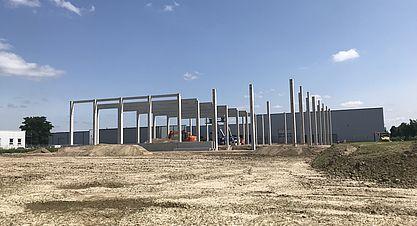 Neubau einer Pulverproduktion