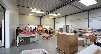Neubau Produktions- und Lagerhalle mit Bürogebäude - Industriebau Stahlhalle