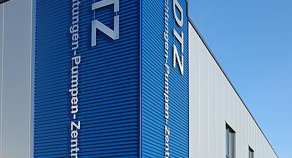 DTZ GmbH, Neubau einer Halle mit Bürogebäude